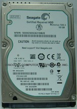 "New ST9160412AS Seagate 160GB 7200RPM SATA/3 2.5"" 9.5MM Hard Drive Free US Ship"