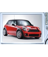 KEYTAG 2008~2009~2010 RED/BLACK MINI COOPER S KEY CHAIN - $9.95