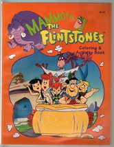 Flintstones Mammoth Coloring and Activity Book 1994-games-puzzles-VF - $37.83