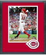 Jesse Winker 2018 Cincinnati Reds #33-11x14 Team Logo Matted/Framed Photo - $43.55