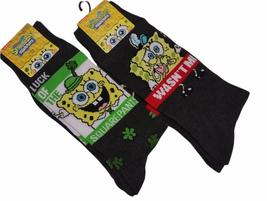 Nickelodeon SpongeBob Squarepants Men's Socks - 2 Pairs Size 10-13 - $10.99