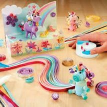 New Alex D.I.Y. Paper Swirls Unicorn Fantasy Roll Shape Create w/ Quilling Tool image 3