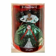 """New In Box """"Happy Holidays"""" Barbie 1995 Special Edition African American - $19.79"""