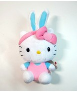 Vintage 2013 Plush TY Easter Bunny Sanrio Hello Kitty Beanie Baby with H... - $9.99