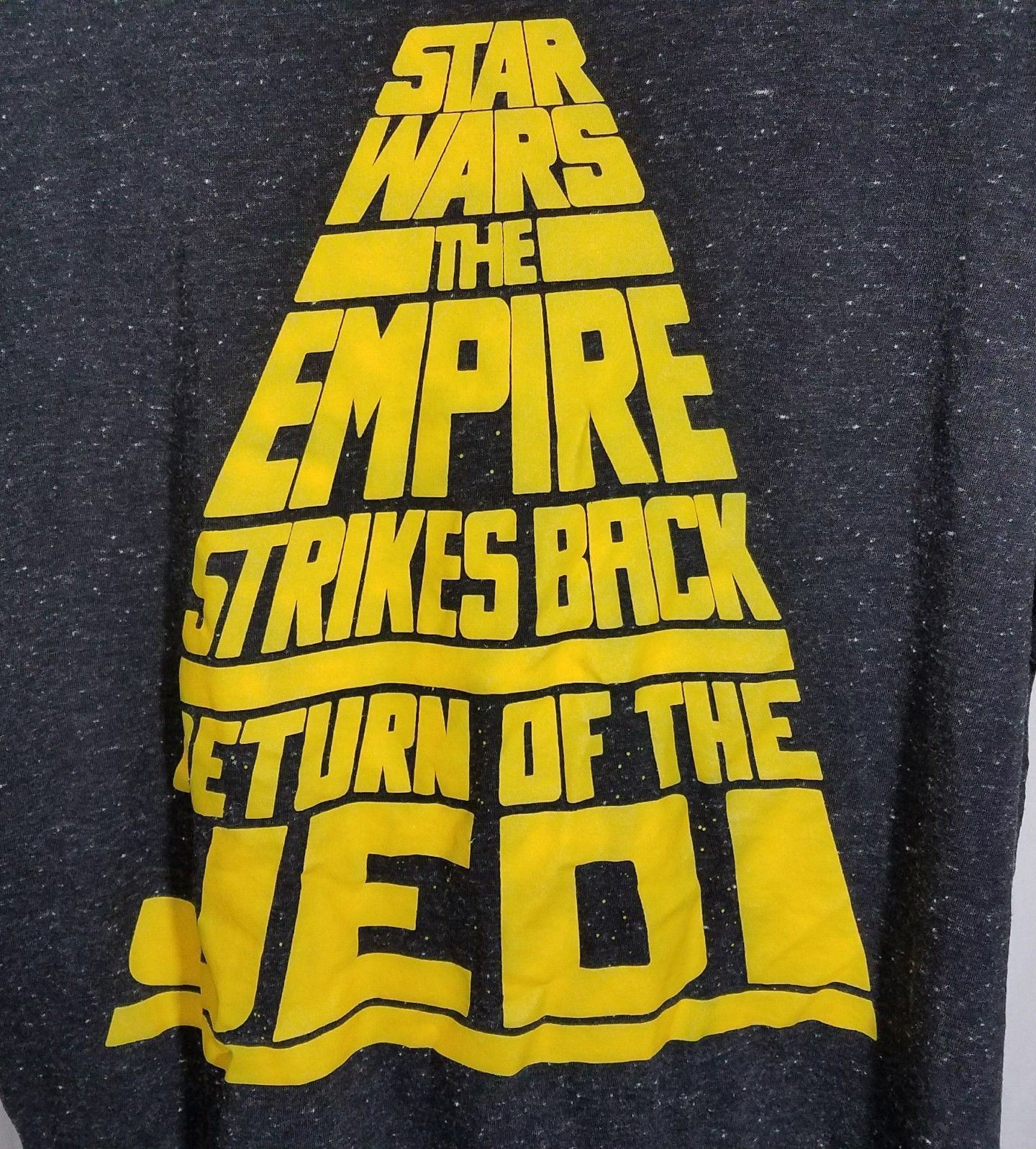 Star Wars The Empire Strikes Back Return Of The Jedi T Shirt Mens L