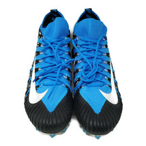 Nike Alpha Menace Elite Football Cleats 877140-410 Carolina Blue Black Size 16 - $39.99