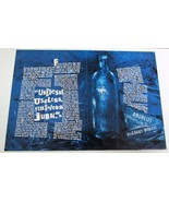 ABSOLUT McGARRY MORRIS Vodka Magazine Ad 2pp MARY McGARRY MORRIS Hard to... - $14.99