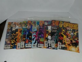 Comic Books Run Generation X Issues 50 To 58 With Issue 61 Thrown In Marvel - $29.58
