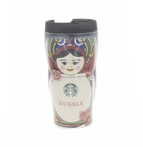 Starbucks Red Matreshka Moscow Russia Coffee Cup Tumbler Nesting Doll Ic... - $38.11