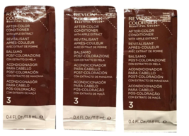 Lot of 3 REVLON COLORSILK AFTER-COLOR Conditioner w/Apple Extract ea 0.4... - $14.00