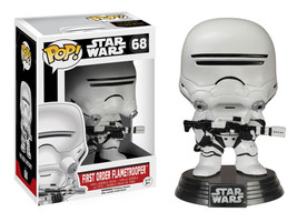 Star Wars The Force Awakens First Order Flametrooper POP! Figure Toy #68 FUNKO - $12.55