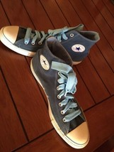 CONVERSE Slate Blue Hightops Hitops Sneakers Shoes Men's Sz 12 - $27.34