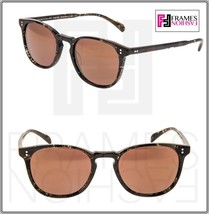OLIVER PEOPLES ALAIN MIKLI FINLEY ESQ SUN Palmier Chocolate Sunglasses 5298 - $234.63