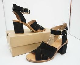 UGG Australia Sandra Women's High Heels Sandals Black Suede Size US 9 M - $88.81