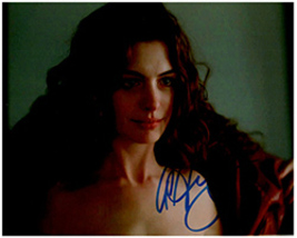 ANNE HATHAWAY  Authentic Original  SIGNED AUTOGRAPHED PHOTO w/ COA 607 - $90.00