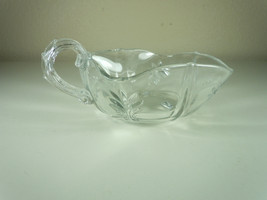 Fostoria Baroque Clear Nappy Dish with Handle - $10.68