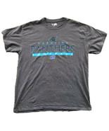 Carolina Panthers Men's T-Shirt Size Large Gray - $12.86