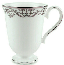 Lenox Coronet Platinum Accent Mug Footed Made in U.S.A New - $26.90