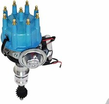 Ford R2R Distributor 351C 351M 400 370 429 460 8mm Spark Plug Kit image 2