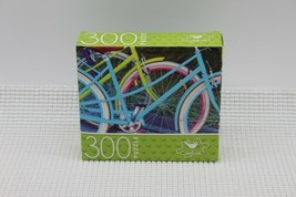 NEW 300 Piece Jigsaw Puzzle Cardinal Sealed 14 x 11, Bicycles/Velos - $4.45