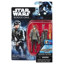Star Wars Rogue One Sergeant Jyn Erso 3.75 Figure New in Package - $9.90