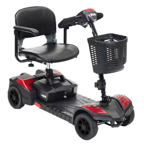 Drive medical scout travel power scooter4