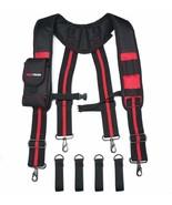 Tool Belt Suspenders Construction Work Suspenders with detachable phone ... - $83.41+