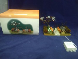 Department Dept 56 Halloween Haunted Front Yard Display with Box 52924 - £23.01 GBP