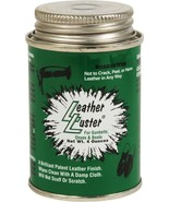 Leather Luster High Gloss Long Lasting Black Polish 4 oz for Boots, Shoe... - $10.99