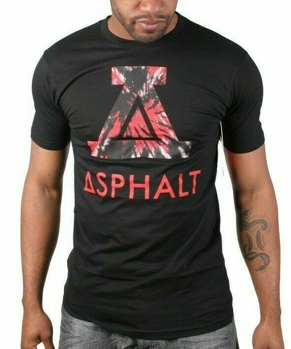 Asphalt Yacht Club Negro Hombre Viaje Icon Mediano Grande Camiseta ASP15SS109