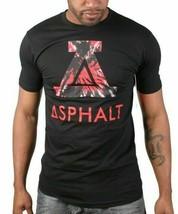 Asphalt Yacht Club Negro Hombre Viaje Icon Mediano Grande Camiseta ASP15SS109 image 1