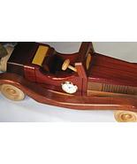 Handmade Collectible Wooden Jaguar Car Model - $139.99