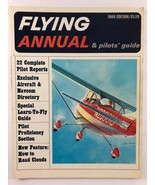Vintage FLYING ANNUAL Pilots Guide Aviation Magazines 1966 Edition - $12.86
