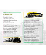 A Tale of Two Trains - Printable Poetry Instant Download - $1.98