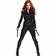 Rubini Marvel Black Widow Guerra Civile Avengers Donna Costume Halloween... - $48.05