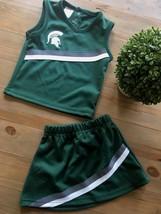 Michigan State Spartans 24 Months Girls Cheerleader Uniform Dress EUC - $17.75