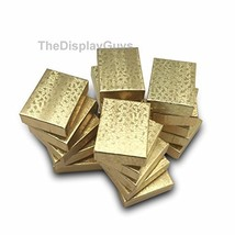 The Display Guys~ Pack of 100 Cotton Filled Cardboard Paper Gold Jewelry... - €25,61 EUR