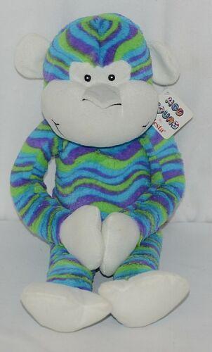 Fiesta Brand Mod Squad Collection A49879 21 Inch Wavy Stripes Cuddle Monkey