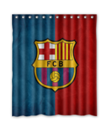 Barca 01 Shower Curtain Waterproof Polyester Fabric For Bathroom  - $33.30+