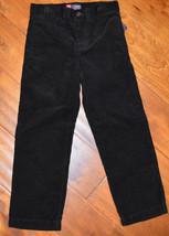 Boy's Chaps Polo Black Corduroy Pants Sizes 4, 5 - $17.99