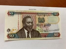 Kenya 50 shilingi uncirc. banknote 2010 - $5.00