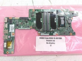 HP 780958-501 Motherboard Includes i7 CPU From X360 15-U011DX Defective ... - $45.00