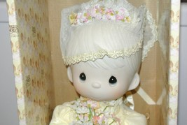 Enesco Precious Moments E-7267/G Bride Collectors Tammy Doll COA - $49.45