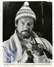 Roger Moore Ffolkes Vintage Signed 8x10 Photo Certified Authentic Beckett BAS CO - $296.99