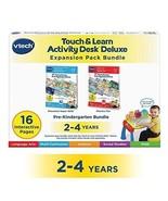 Touch Learn Activity Desk Deluxe 2-in-1 Preschool Pack Super skills - $28.03