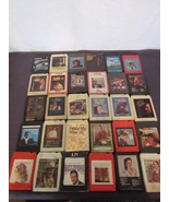 8-Track Lot 30 Country Pride Elvis Tucker Tubb Rich Whittaker Statler Br... - $24.84