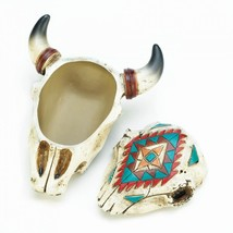 Axtec Ox Skull Trinket Box  - $20.00