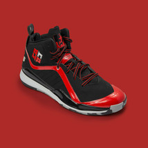 Adidas D Howard 5 All Star Black and Red Basketball Sneakers Mens Size 10 US - $79.46