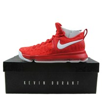 Nike Zoom KD 9 Kevin Durant Varsity Red Size 10.5 Basketball Shoes 84339... - $119.95