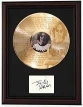 """JOHN LENNON IMAGINE CHERRY WOOD FRAMED ETCHED  LP SIGN. RECORD DISPLAY """"C3"""" - $143.96"""